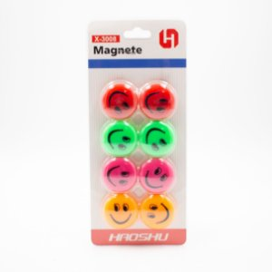 Imã Magnético Sorriso c/8 Peças