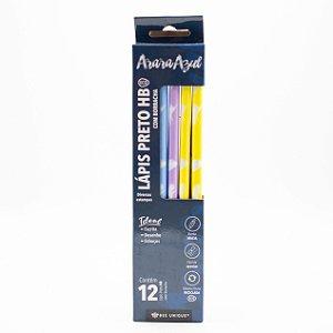 Lápis Preto HB Com Borracha Diversas Estampas c/12 unidades OD-PC0011