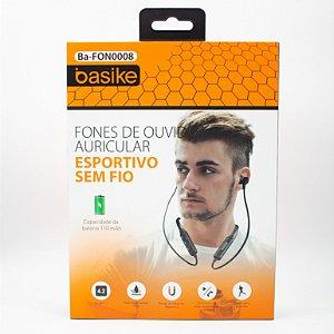 Fone de Ouvido Esportivo Sem Fio Basike Ba- Fon-0008
