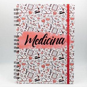 Caderno Universitário Espiral - Profissão Medicina
