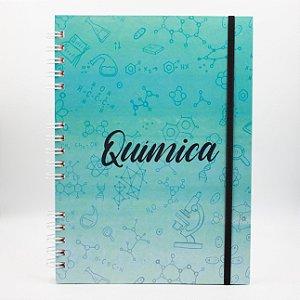 Caderno Universitário Espiral - Profissão Química