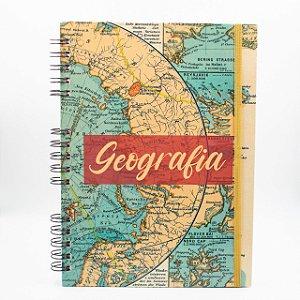 Caderno Universitário Espiral - Profissão Geografia