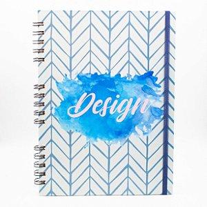 Caderno Universitário Espiral - Profissão Design