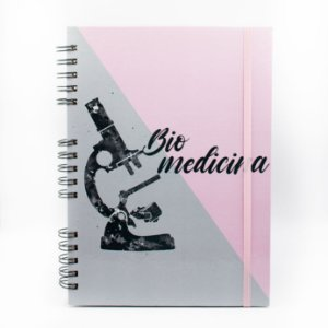 Caderno Universitário Espiral - Profissão Bio Medicina