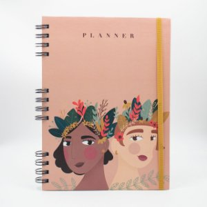 Agenda Permanente Planner  -  Collab Two Girls (10)