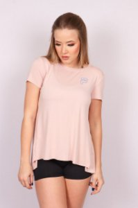 CAMISETA FILA STUDIO TRAIN ROSA NUDE