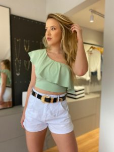CROPPED LILY VERDE