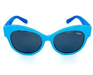 Live! Infantil Marina Azul, com Proteção UV 400.