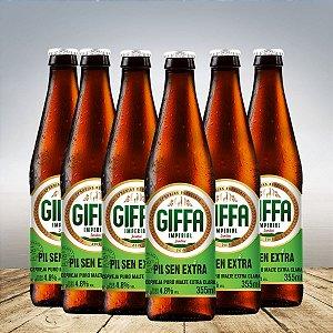 GIFFA PILSEN EXTRA 355 ML - 6 unid
