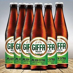 GIFFA PILSEN EXTRA 500 ML - 6 unid