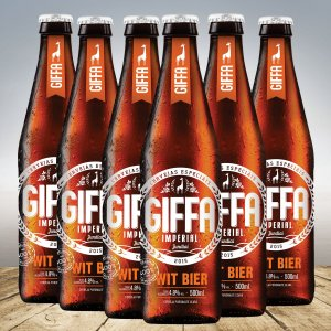 GIFFA WIT BIER 500 ML - 6 unid