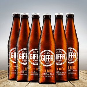 GIFFA WIT BIER 355 ML - 6 unid