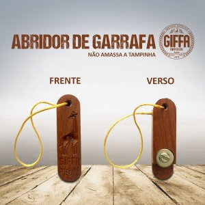 ABRIDOR DE MADEIRA EXCLUSIVO GIFFA