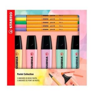 Stabilo Pastel Collection 5 Boss + 5 Point 88