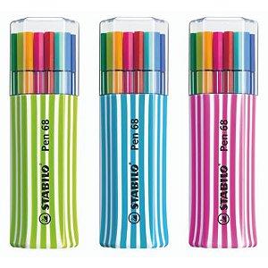 Stabilo Pen 68 - Kit 15 Cores