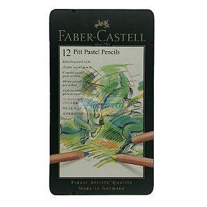 Faber-Castell Pitt Pastel Pencils - 12 Cores
