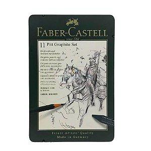 Faber-Castell Pitt Graphite Set - 11 Peças