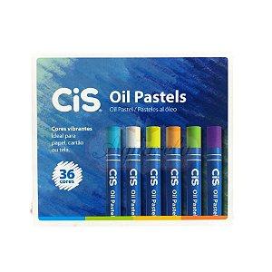 Giz Pastel Oleoso Cis - 36 Cores