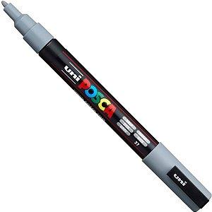 Posca PC-3M Bullet Shaped - Cinza