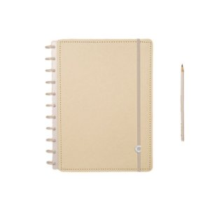 Caderno Inteligente Amarelo Pastel - Grande