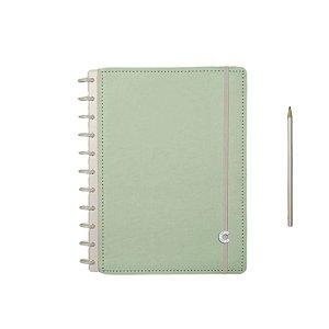 Caderno Inteligente Verde Pastel - Grande