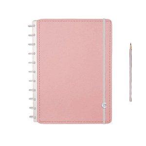 Caderno Inteligente Rosa Pastel - Grande