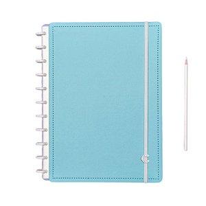 Caderno Inteligente Azul Celeste - Grande