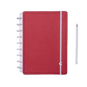 Caderno Inteligente Vermelho Cereja - Médio