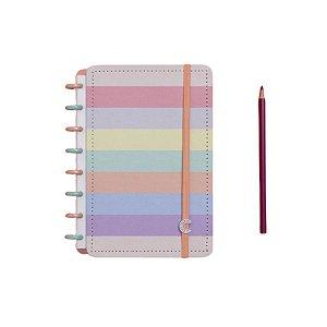 Caderno Inteligente Arco-Íris Pastel  - A5