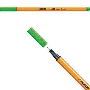 Stabilo Point 88 - Verde Neon 88/033