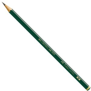 Lápis Grafite Faber-Castell 9000 - 6B