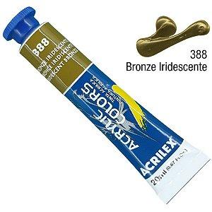 Tinta Acrílica Acrilex 20ml - Bronze Iridescente 388