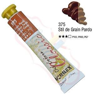 Tinta a óleo Acrilex Classic 20ml - Stil Grain Pardo 375