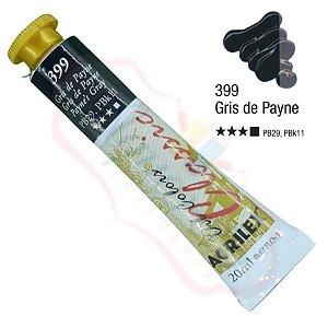 Tinta a óleo Acrilex Classic 20ml - Gris de Payne 399