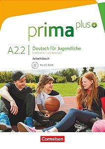 Prima plus A2/2 - Arbeitsbuch mit CD-ROM