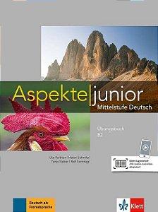 Aspekte junior B2 - šbungsbuch mit Audios