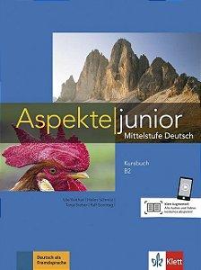 Aspekte junior B2 - Kursbuch mit Audios und Videos
