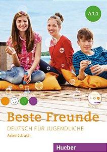 Beste Freunde A1/1 - Arbeitsbuch mit Audio-CD