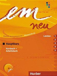 EM Neu Hauptkurs Kursbuch + Arbeitsbuch -  Lektion 1 - 5 - B2