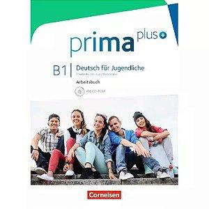 Prima Plus B1 - Arbeitsbuch mit CD-ROM