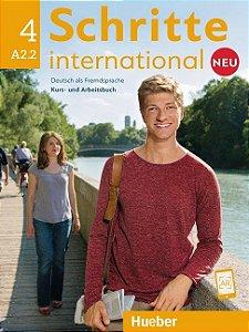 Schritte International Neu 4 - A2/2 (NOVA EDIÇÃO)
