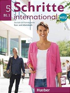 Schritte International Neu 5 - B1/1 (NOVA EDIÇÃO)