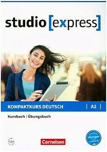 Studio [express] A2 - Kurs- und šbungsbuch mit Audios online