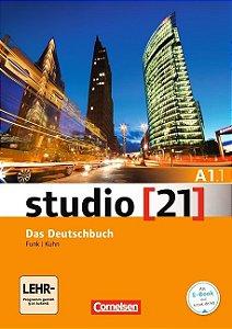 Studio 21 A1: Teilband 1 - Kurs- und Übungsbuch mit DVD-ROM (VERSÇO SEMESTRAL PARTE 1)