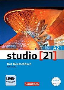 Studio 21 A2: Teilband 1 - Kurs- und Übungsbuch mit DVD-ROM (VERSÇO SEMESTRAL PARTE 1)