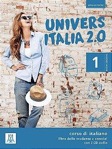 UniversItalia 2.0 - A1/A2 - Libro dello studente e esercizi + CD Audio