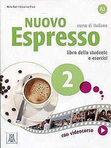 Nuovo Espresso 2 - Libro Studente + DVD-ROM - A2