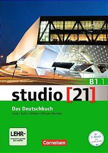 Studio 21 B1: Teilband 1 - Kurs- und Übungsbuch mit DVD-ROM (VERSÇO SEMESTRAL PARTE 1)