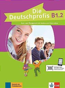 Die Deutschprofis B1/2 - Kurs- und šbungsbuch mit Audios und Clips online