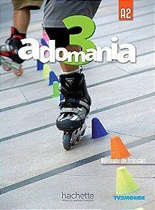 Adomania 3 - Livre de lï'lŠve + DVD-ROM - A2